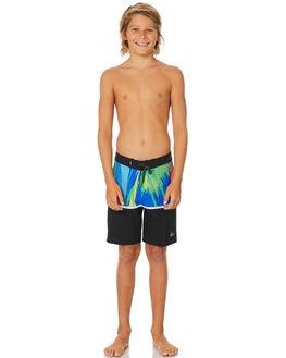 BLACK KIDS BOYS QUIKSILVER BOARDSHORTS - EQBBS03455-KVJ6