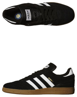 BLACK WHITE GOLD MENS FOOTWEAR ADIDAS SKATE SHOES - G48060BWGD