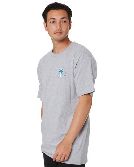 HEATHER GREY MENS CLOTHING VOLCOM TEES - A3532004HGR
