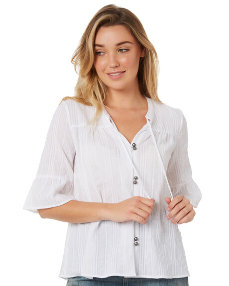 WHITE WOMENS CLOTHING SWELL FASHION TOPS - S8174167WHITE