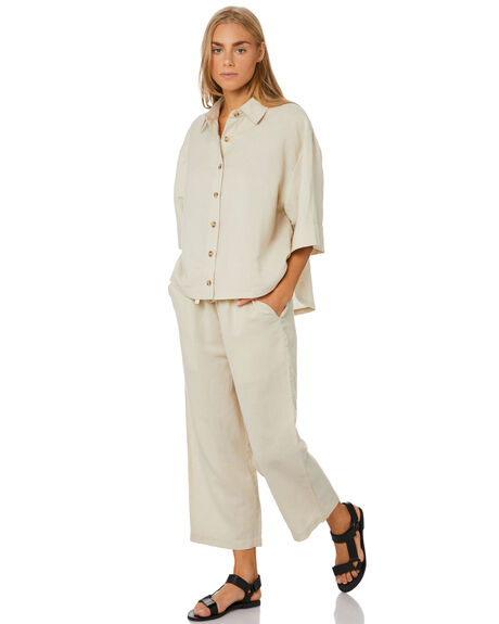 NATURAL WOMENS CLOTHING SWELL PANTS - S8201199NATRL