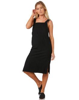 BLACK WOMENS CLOTHING RUSTY DRESSES - DRL0929BLK