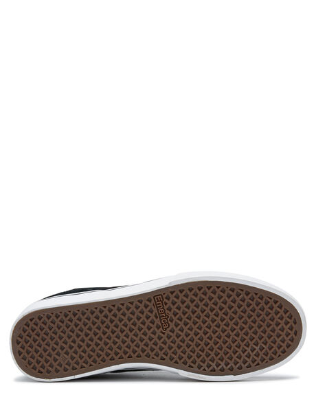 BLACK GOLD WHITE MENS FOOTWEAR EMERICA SNEAKERS - 6101000131973
