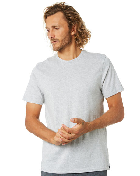 GREY MARLE MENS CLOTHING VOLCOM TEES - A5032074GRM