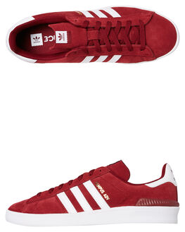 COLLEGIATE BURGUNDY WOMENS FOOTWEAR ADIDAS SNEAKERS - SSB22714BURW