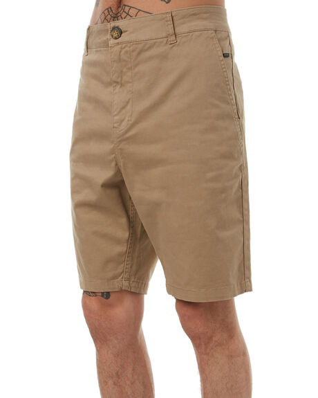 KHAKI MENS CLOTHING RIP CURL SHORTS - CWAIO10064