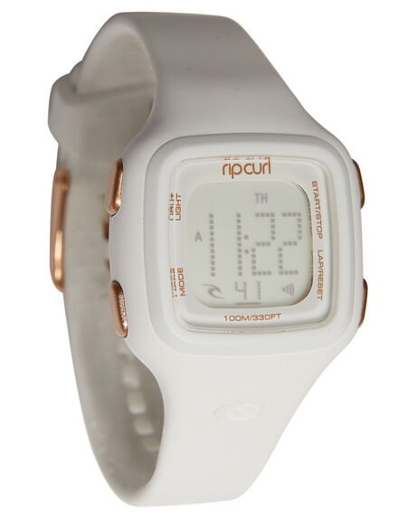 WHITE MENS ACCESSORIES RIP CURL WATCHES - A2466G1000