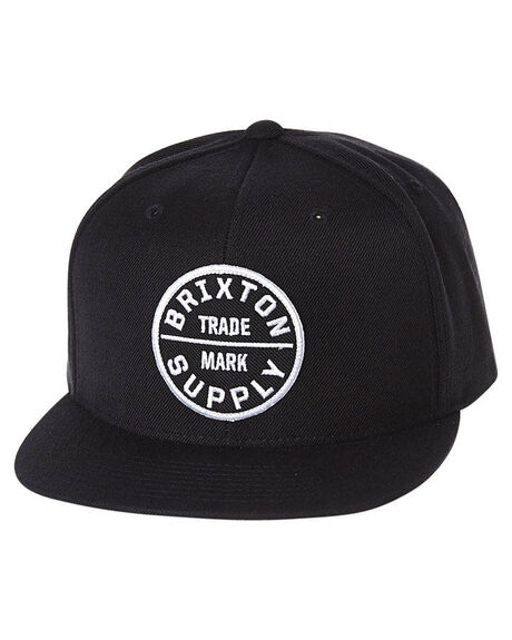 BLACK MENS ACCESSORIES BRIXTON HEADWEAR - 412-00173-0100BLK