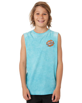 MINT KIDS BOYS SANTA CRUZ TOPS - SC-YTD9322MNT