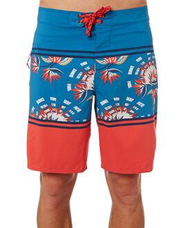 PARADISE STRIPE BLUE MENS CLOTHING PATAGONIA BOARDSHORTS - 86611SPLB