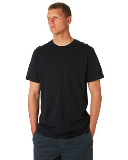 BLACK MENS CLOTHING VOLCOM TEES - A5011530BLK