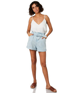 BLUE WOMENS CLOTHING MINKPINK SHORTS - MD1904931BLU