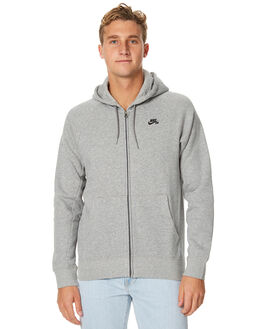 GREY HEATHER MENS CLOTHING NIKE JUMPERS - 800149063