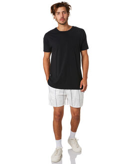 MILK BLACK MENS CLOTHING ZANEROBE SHORTS - 606-CONMILK