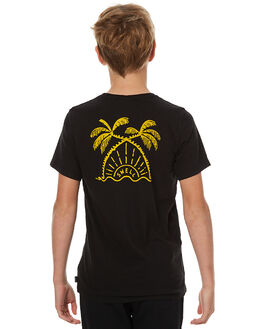 BLACK KIDS BOYS SWELL TEES - S3173002BLK