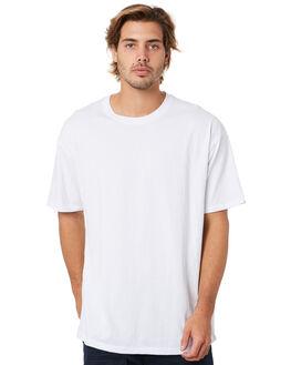 WHITE MENS CLOTHING ZANEROBE TEES - 145-WANWHT