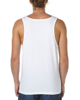 WHITE MENS CLOTHING RIP CURL SINGLETS - CTEVO11000