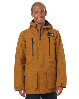 GOLDEN BROWN SNOW OUTERWEAR THE NORTH FACE JACKETS - NF0A332QUBJGLDBR