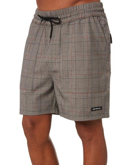PLAID MENS CLOTHING RPM SHORTS - 20SM22A1PLD