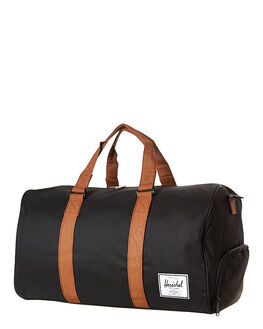 BLACK TAN MENS ACCESSORIES HERSCHEL SUPPLY CO BAGS + BACKPACKS - H-123-28-01-OS