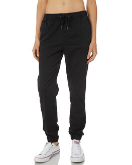 BLACK WOMENS CLOTHING SWELL PANTS - S8161195BLACK