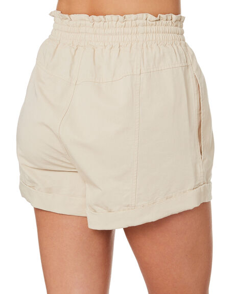 BONE WOMENS CLOTHING THE HIDDEN WAY SHORTS - H8202234BONE