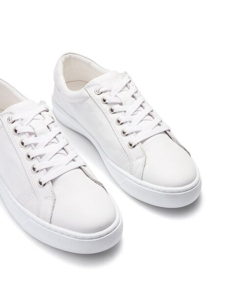 WHITE WOMENS FOOTWEAR JUST BECAUSE SNEAKERS - 21508A-1WHT