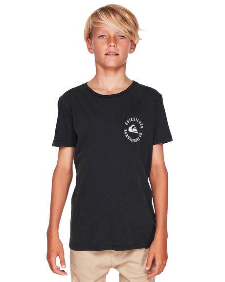 BLACK KIDS BOYS QUIKSILVER TOPS - EQBZT03912-KVJ0