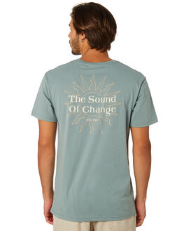 TEAL MENS CLOTHING RHYTHM TEES - APR19M-PT08-TEA