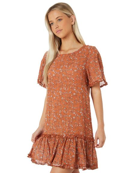 TAN WOMENS CLOTHING THE HIDDEN WAY DRESSES - H8184441TAN