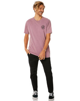 DUSTYPURPLE MENS CLOTHING SANTA CRUZ TEES - SC-MTC8945DPUR