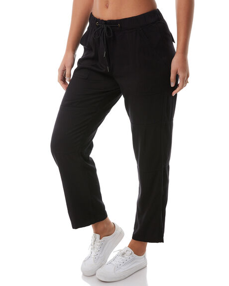 BLACK WOMENS CLOTHING SWELL PANTS - S8182195BLACK