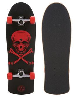 BLACK RED SKATE COMPLETES Z FLEX  - ZFX04326BLKRD
