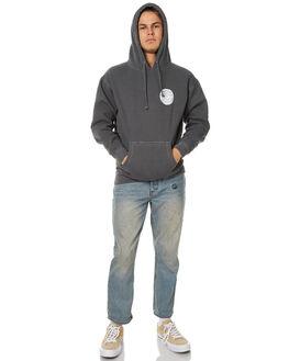 VINTAGE BLACK MENS CLOTHING ALLAH LAS JUMPERS - LASREVHOOD01VBLK