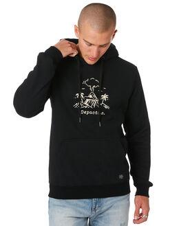 BLACK MENS CLOTHING DEPACTUS JUMPERS - D5194443BLACK