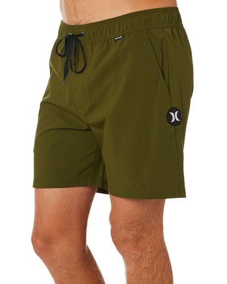 LEGION GREEN MENS CLOTHING HURLEY BOARDSHORTS - AR1428331