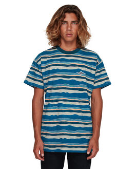 BLUE MENS CLOTHING BILLABONG TEES - BB-9591018-BLU