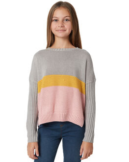 GREY MARLE KIDS GIRLS EVES SISTER JUMPERS + JACKETS - 9910060GRM
