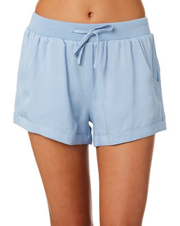 CHAMBRAY WOMENS CLOTHING SWELL SHORTS - S8184234CHAMB