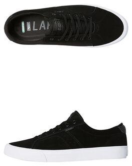 BLACK CHAR MENS FOOTWEAR LAKAI SKATE SHOES - MS4170110ABLKCH