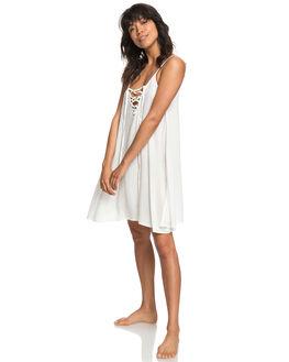 MARSHMALLOW WOMENS CLOTHING ROXY DRESSES - ERJX603122WBT0