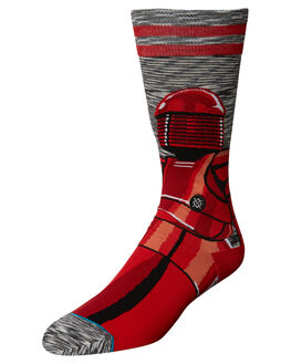 GREY MENS ACCESSORIES STANCE SOCKS + UNDERWEAR - M545D17REDGRY
