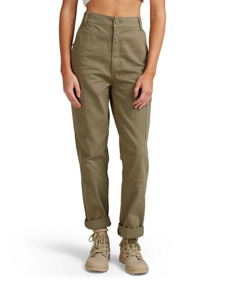 ARMY WOMENS CLOTHING BILLABONG PANTS - BB-6507438-ARM