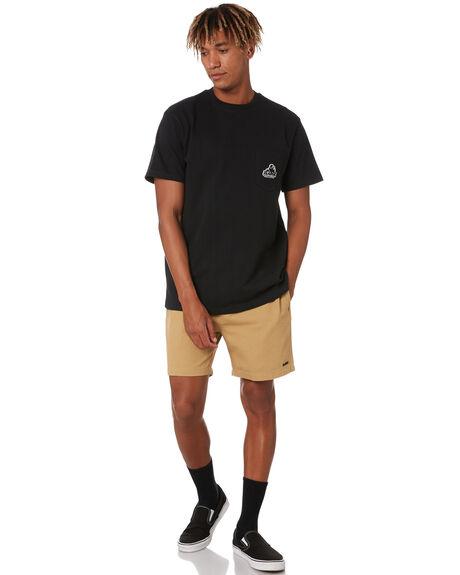 BLACK MENS CLOTHING XLARGE TEES - XL002100BLK