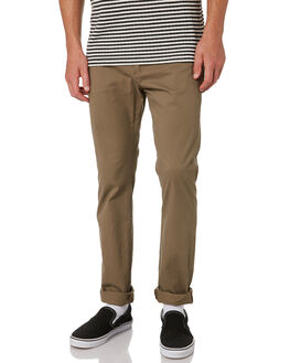 OLIVE MENS CLOTHING RUSTY PANTS - PAM0869OLV