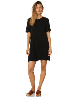 BLACK WOMENS CLOTHING SWELL DRESSES - S8189444BLACK