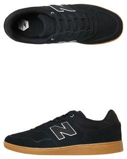 BLACK GUM MENS FOOTWEAR NEW BALANCE SKATE SHOES - NM288GBW