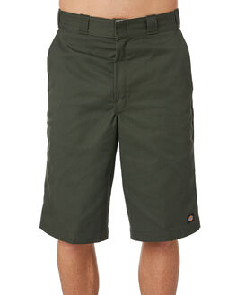 OLIVE GREEN MENS CLOTHING DICKIES SHORTS - 42283OGRN