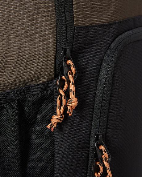 DARK OLIVE MENS ACCESSORIES RIP CURL BAGS + BACKPACKS - BBPAR99389