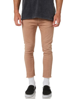 TAN MENS CLOTHING THE PEOPLE VS PANTS - AW19068-TANTAN